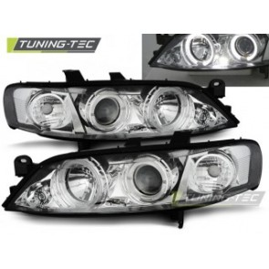 Koplamp set Opel Vectra B 99-03.02 Angel Eyes Chroom
