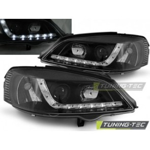 Koplamp set Opel Astra G 09.97-02.04 Daylight Zwart