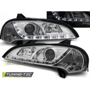 Koplamp set Opel Tigra 09.94-12.00 Daylight Chroom