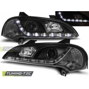 Koplamp set Opel Tigra 09.94-12.00 Daylight Zwart
