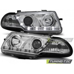 Koplamp set Opel Astra F 09.91-08.94 Daylight Chroom