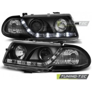 Koplamp set Opel Astra F 09.94-08.97 Daylight Zwart