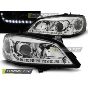 Koplamp set Opel Astra G 09.97-02.04 Daylight Chroom