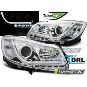Koplamp set Opel Insignia 08-12 Chroom Tube Lights