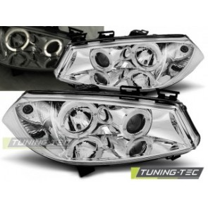 Koplamp set Renault Megane 2 11.02-12.05 Angel Eyes Chroom