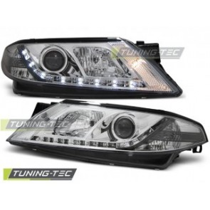 Koplamp set Renault Laguna 2 01-03.05 Daylight Chroom