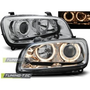 Koplamp set Toyota Rav4 06.94-06.00 Angel Eyes Chroom