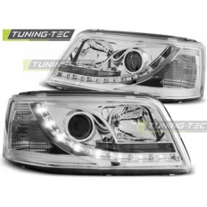 Koplamp set Vw T5 04.03-08.09 Daylight Chroom
