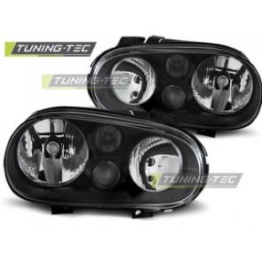 Koplamp set Vw Golf 4 09.97-09.03 Zwart