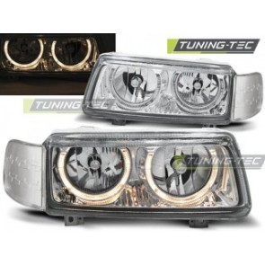 Koplamp set Vw Passat B4 11.93-05.97 Angel Eyes Chroom
