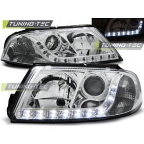 Koplamp set Vw Passat 3 Bg B5 Fl 09.00-03.05 Daylight Chroom
