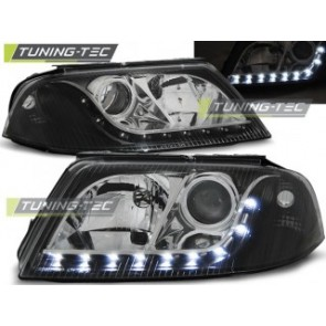 Koplamp set Vw Passat 3 Bg B5 Fl 09.00-03.05 Daylight Zwart