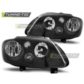 Koplamp set Vw Touran 02.03-10.06 / Caddy Zwart