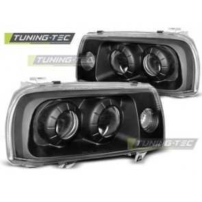 Koplamp set Vw Vento 01.92-08.98 Zwart
