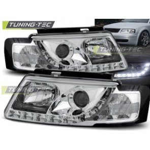 Koplamp set Vw Passat B5 3 B 11.96-08.00 Daylight Chroom