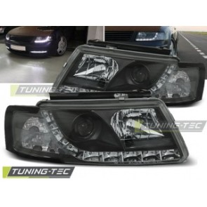 Koplamp set Vw Passat 5 B 3 B 11.96-08.00 Daylight Zwart