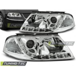 Koplamp set Vw Passat 3 Bg 09.00-03.05 Daylight Chroom