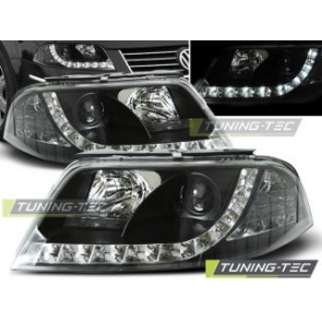 Koplamp set Vw Passat 3 Bg 09.00-03.05 Daylight Zwart