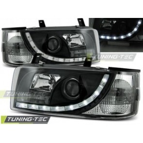 Koplamp set Vw T4 90-03.03 Transporter Daylight Zwart