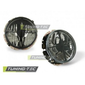 Koplamp set Vw Golf 1 05.74-07.83 Getint Buitenzijde
