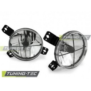 Koplamp set Vw Golf 1 05.74-07.83 Chroom Binnenzijde