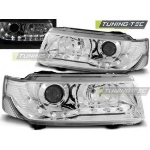 Koplamp set Vw Passat B4 11.93-05.97 Daylight Chroom