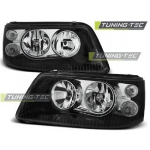 Koplamp set Vw T5 04.03-08.09 Zwart