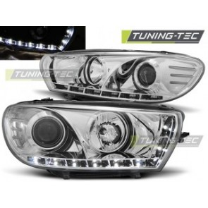 Koplamp set Vw Scirocco 08- Daylight Chroom