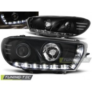 Koplamp set Vw Scirocco 08- Daylight Zwart