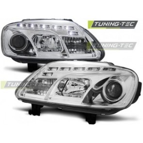 Koplamp set Vw Touran 02.03-10.06 / Caddy Daylight Chroom