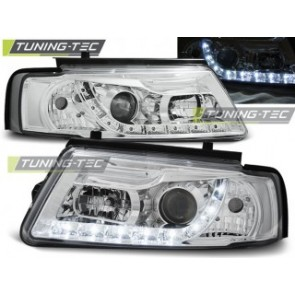 Koplamp set Vw Passat B5 11.96-08.00 Daylight Chroom