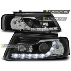 Koplamp set Vw Passat B5 11.96-08.00 Daylight Zwart