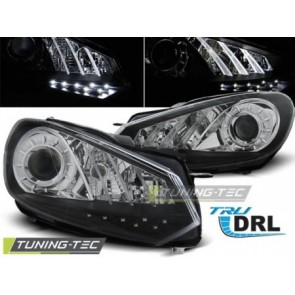 Koplamp set Vw Golf 6 10.08- 12 Tru Drl Zwart