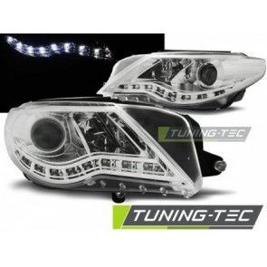 Koplamp set Vw Passat Cc Daylight Chroom