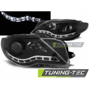 Koplamp set Vw Passat Cc Daylight Zwart