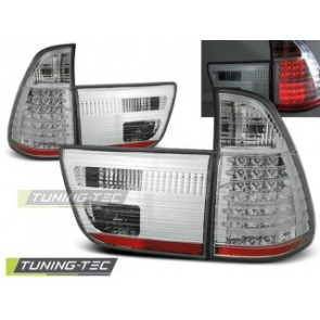 LED Achterlicht setje Bmw X5 E53 09.99-06 Chroom Led