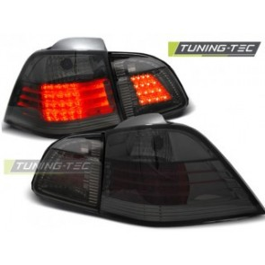 LED Achterlicht setje Bmw E61 04-03.07 Touring Getint Led