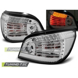 LED Achterlicht setje Bmw E60 07.03-07 Chroom Led
