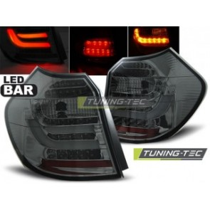 LED Achterlicht setje Bmw E87/E81 04-08.07 Getint Led Bar