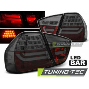 LED Achterlicht setje Bmw E90 03.05-08.08 Getint Led Bar