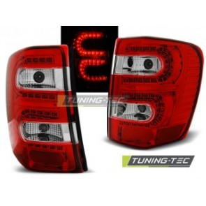 LED Achterlicht setje Chrysler Jeep Grand Cherokee 99-05.05 Rood Wit Led