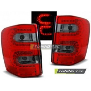 LED Achterlicht setje Chrysler Jeep Grand Cherokee 99-05.05 Rood Getint Led