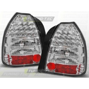 LED Achterlicht setje Honda Civic 09.95-02.01 3 D Chroom Led