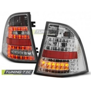 LED Achterlicht setje Mercedes W163 Ml M- Klasse 03.98-05 Chroom Led