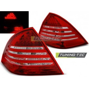 LED Achterlicht setje Mercedes C- Klasse W203 Sedan 00-04 Rood Wit Led