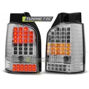 LED Achterlicht setje Vw T5 04.03-09 Chroom Led