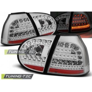 LED Achterlicht setje Vw Golf 5 10.03-09 Chroom Led