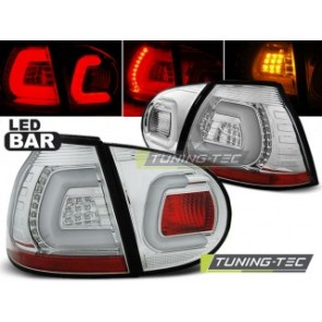 LED Achterlicht setje Vw Golf 5 10.03-09 Chroom Led Bar
