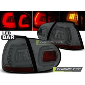 LED Achterlicht setje Vw Golf 5 10.03-09 Getint Led Bar