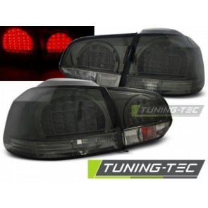 LED Achterlicht setje Vw Golf 6 10.08-12 Getint Led